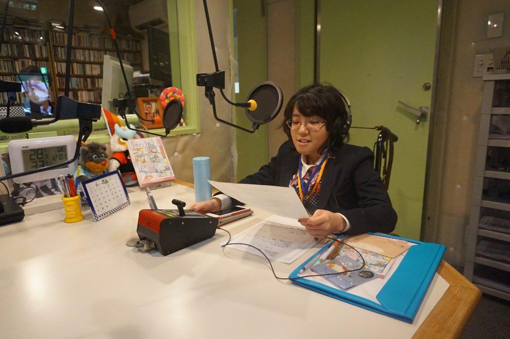 10月7日(水)に弊社金田一晴香がラジオのパーソナリティーを務めます
